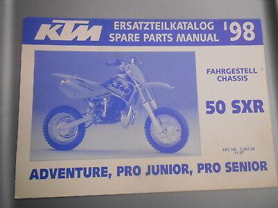 ktm engine spare parts manual 1998 50 sxr adventure pro. Black Bedroom Furniture Sets. Home Design Ideas