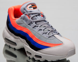 new style 1ff14 78834 Image is loading Nike-Air-Max-95-Essential-Sneakers-Platinum-Black-