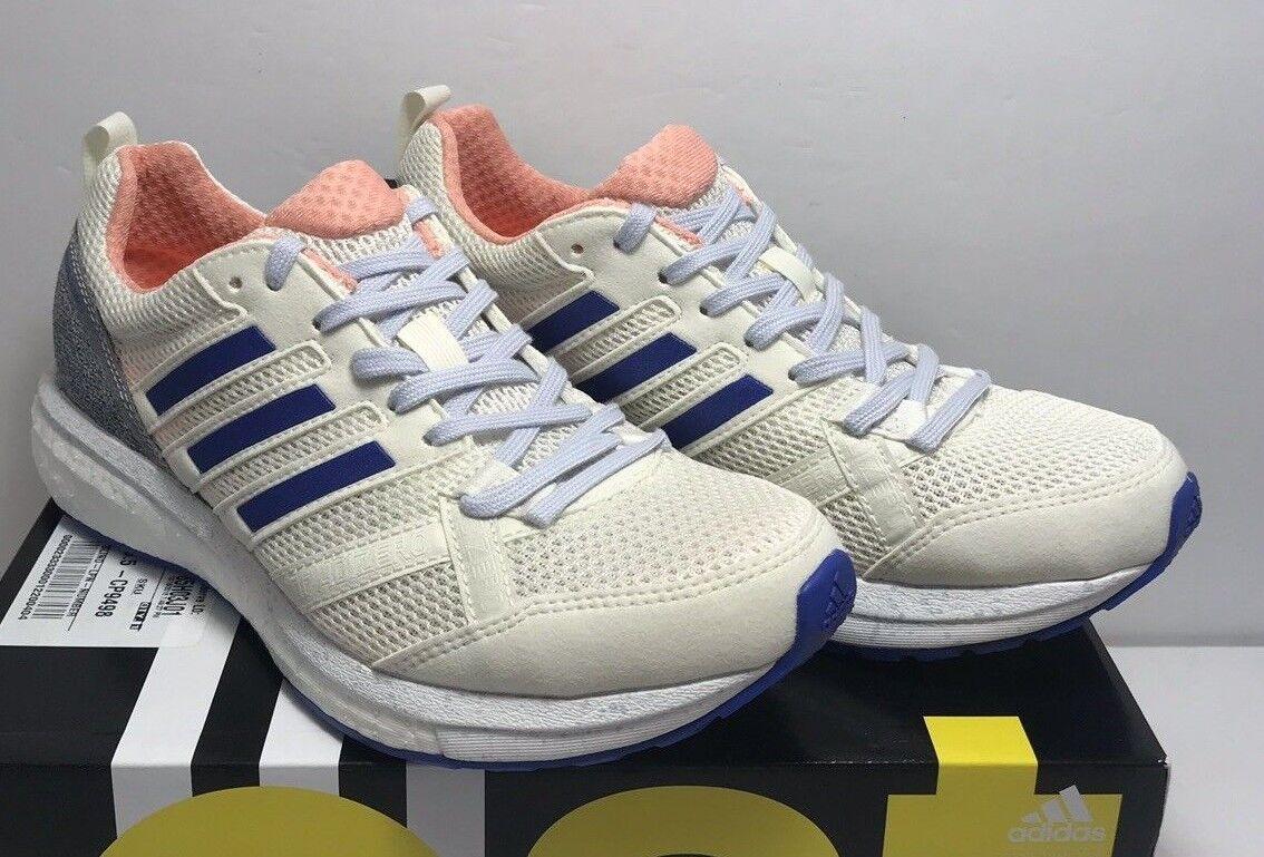Adidas Women size 7 Adizero Tempo 9 Running Training shoes Sneakers Cp9498