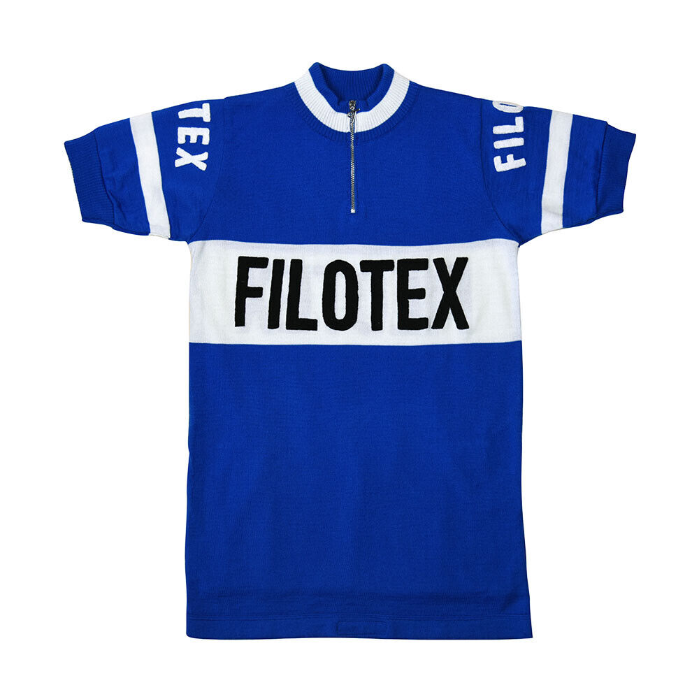 MAGLIA FILOTEX Ciclismo Vintage Cycle Bike Jersey Made in Italy