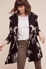 NWT Anthropologie Dressage Sweatercoat Horse Pony Size M