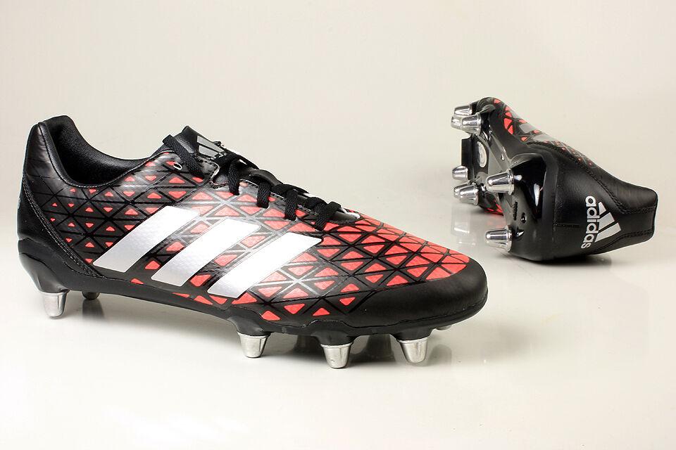 FW17 Adidas Kakari Sg 8 Tacos Hierro Zapatos botas zapatos Rugby AQ2045