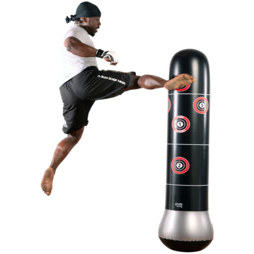 Boxing MMA Bag 5/' Target Practice Training Sport Stand Speed Kid Child Punching
