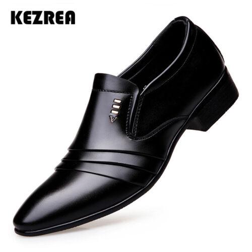 Zapatos para Hombre de Vestir Formal Zapatos de Hombre de Cuero Casual de Moda