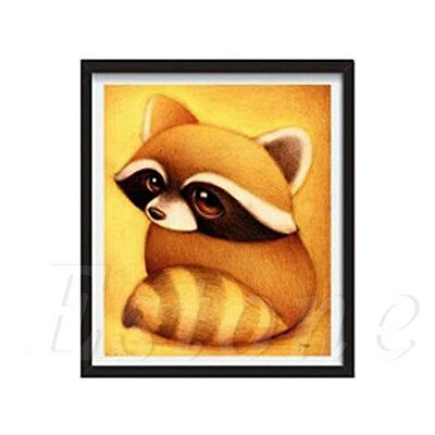 5D Cute Animal Diamond Painting DIY Cross Stitch Mosaic Pictures Home Room Decor