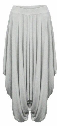 Womens Ladies Gathered Draped Baggy Harem Pants Trousers Lagenlook Alibaba 8-26