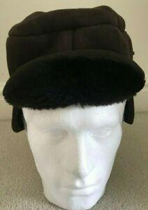 Paul Smith  Brown Sheepskin Chapka Trapper Hat