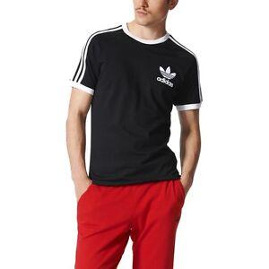 camiseta negra adidas original hombre