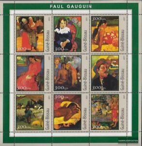 Topical Stamps Guinea-bissau Guinea-bissau 1618-1623 Postfrisch 2001 Gemälde