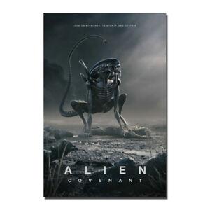Alien Covenant Movie Art Canvas Poster Print 12x18 24x36 inch
