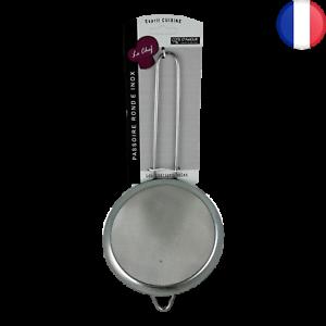 2X Tamis de Cuisine Métal 13,5 cm Farine Thé Huile Sucre Passoire Maille Filtre
