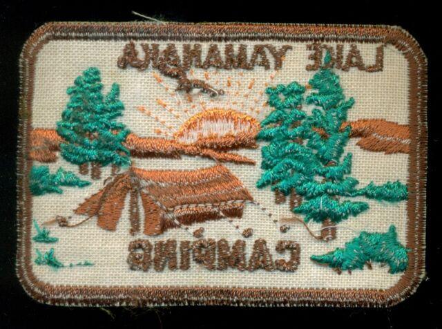 BSA Boy Scout Lake Yamanaka Camping Patch N-10   eBay