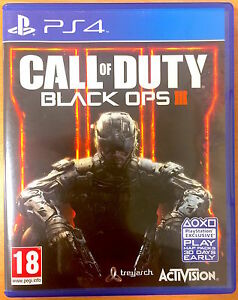 Call of Duty Black Ops III  Playstation PS4 Games  Good Condition  COD - <span itemprop=availableAtOrFrom>Helensburgh, United Kingdom</span> - Returns accepted Most purchases from business sellers are protected by the Consumer Contract Regulations 2013 which give you the right to cancel the purchase within 14 days after the  - Helensburgh, United Kingdom