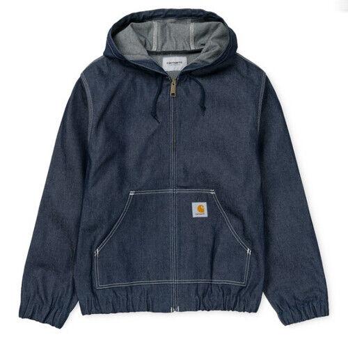 Herren Jacke Carhartt Active Jacket ( Blau Rigid ) Größe XXL Wert