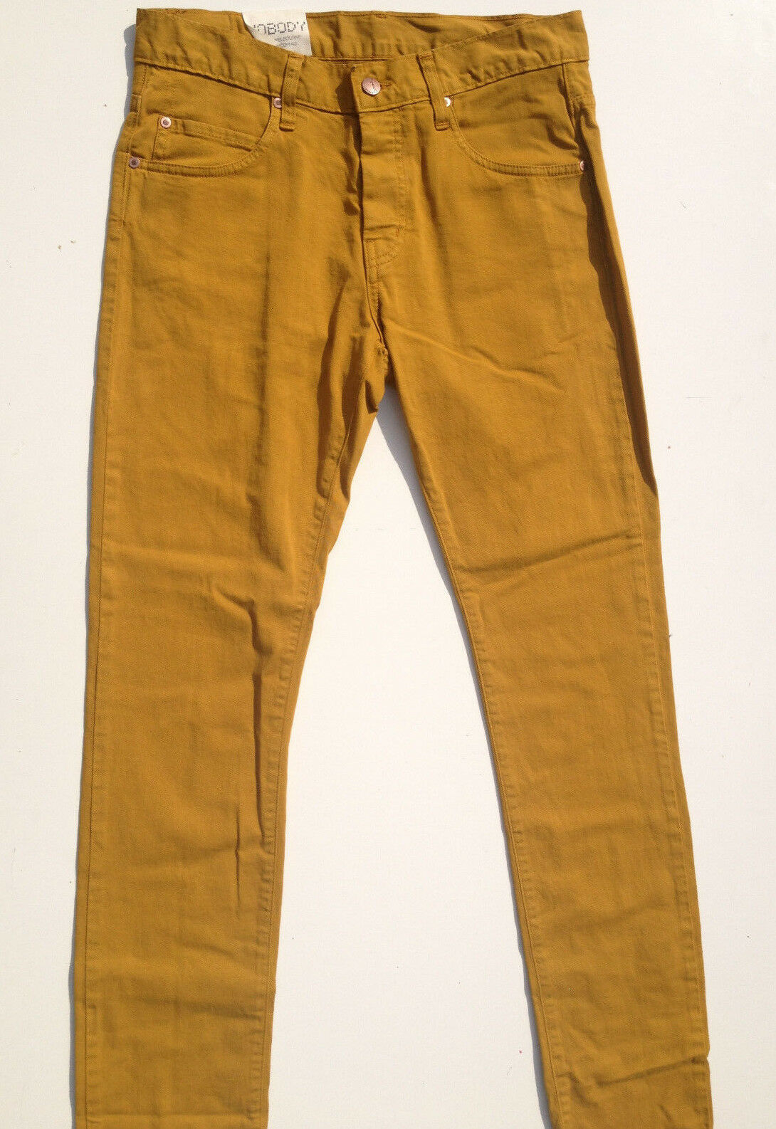 Nobody Jeans 'PIPE MID RISE SLIM FIT' Size 28 L33 AU10 Iron NEW RRP  Womens