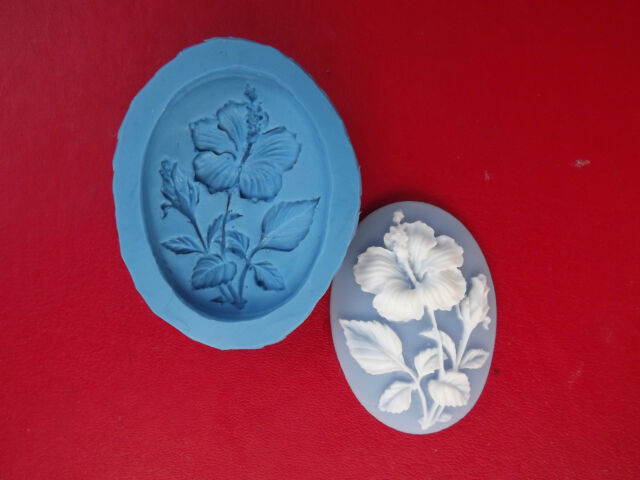 Flower Cameo silicone mould sugarcraft cake decorating