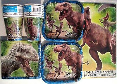 JURASSIC WORLD - Birthday Party Supply Kit 16