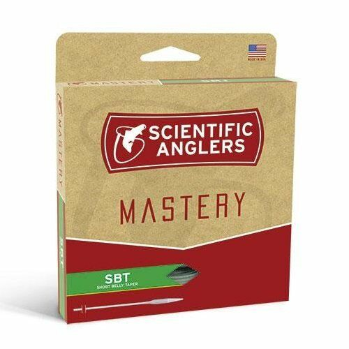 Scientific Anglers Mastery SBT Fly Line - WF8F - Willow Tip orange Willow - NEW