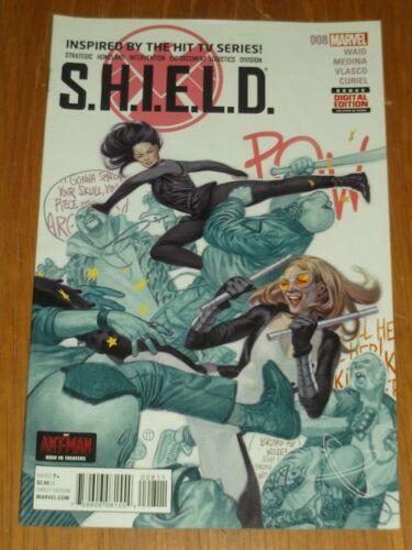 SHIELD S.H.I.E.L.D #8 MARVEL COMICS SEPTEMBER 2015 NM 9.4