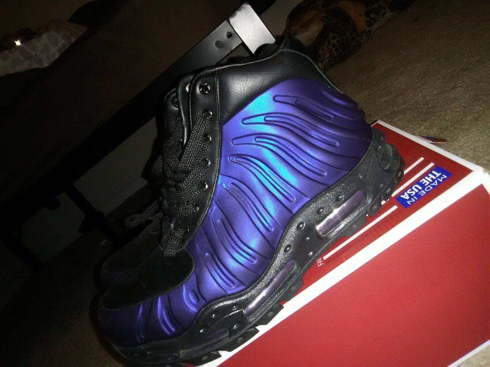 Nike acg foamposite boots eggplant eggplant eggplant size  9 purple 7c7fd2