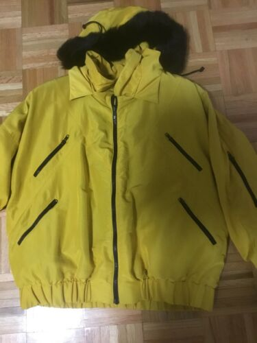 Nylon And Jacket Kvinders Størrelse S Fur Reversible AWnxxfOR