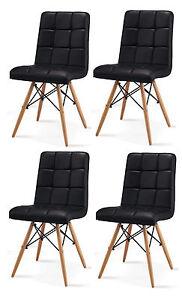 Einmaliges Sonderangebot 8er Set Stuhl Esszimmer Pu Leder