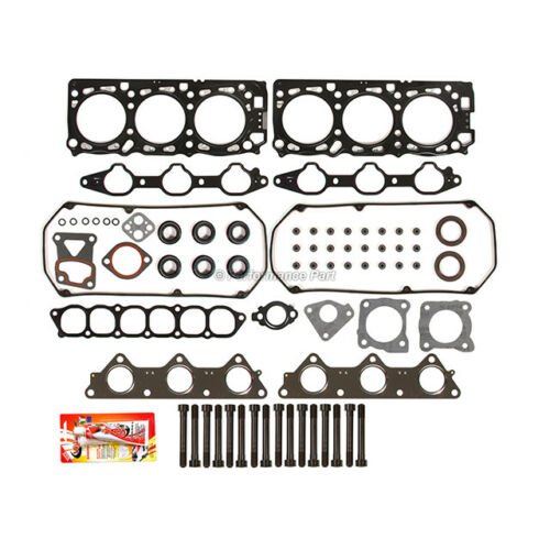 Head Gasket Bolts Set for 95-98 Mitsubishi Montero /& Sport V6 3.0 SOHC 6G72