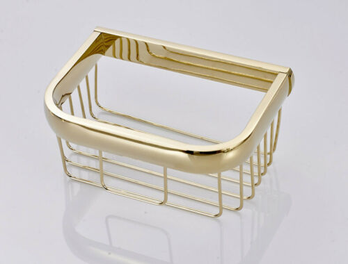 Luxury Gold Color Brass Modern Bathroom Accessories Wall Mounted Hardware Set