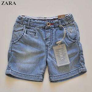 ZARA Baby Toddler Boys Cotton Denim Shorts 3-6M 6-9M 9-12M 12-18M 18 ... 64a0e1f6511