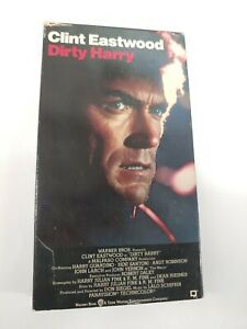Dirty-Harry-VHS-1993-Clint-Eastwood