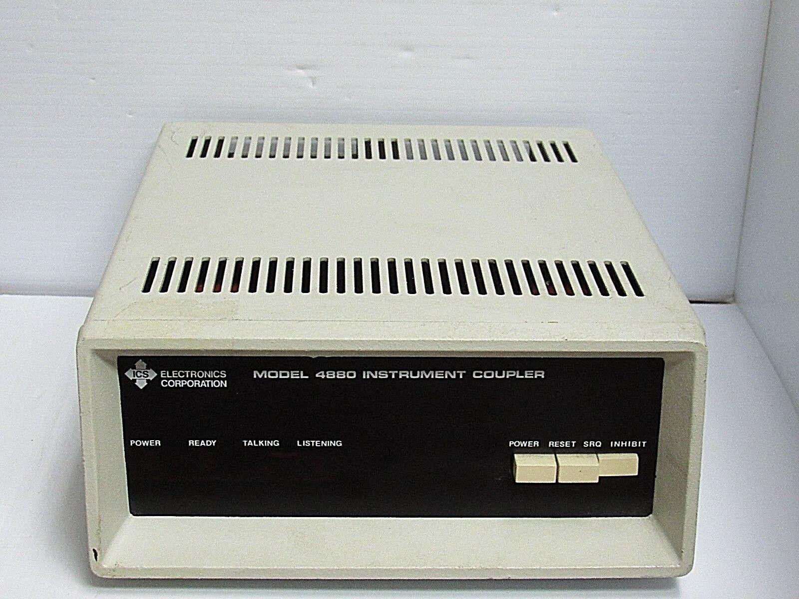 ICS ELECTRONICS CORP INSTRUMENT COUPLER 4880 4881 REV. 24