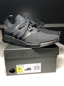ff811225b Adidas NMD R1 PK Japan Triple Black Men s Size 9.5 BZ0220