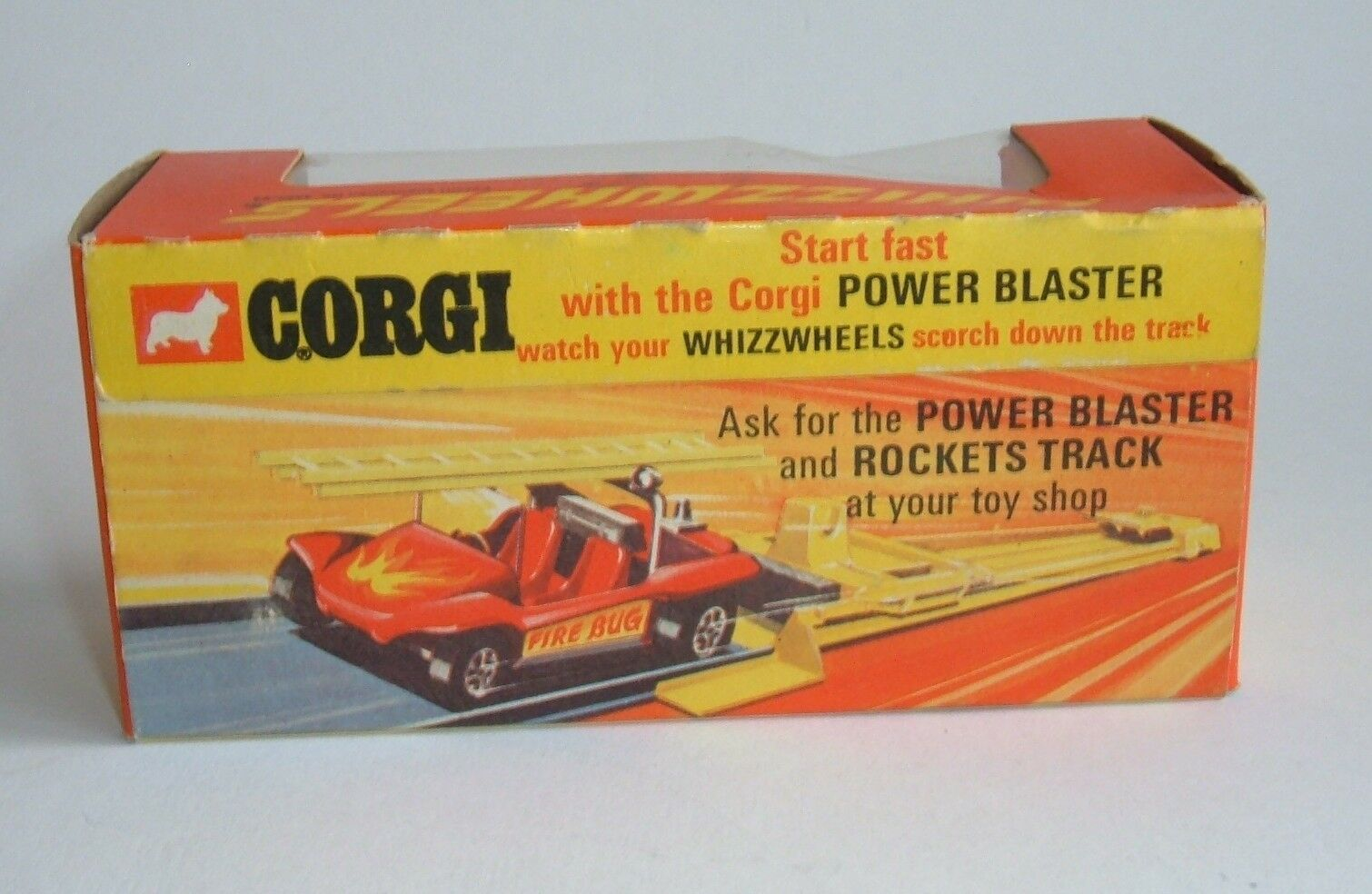 Corgi Toys No. 395, Whizzwheels 'Fire Bug', Bug', Bug', - Superb Mint. 0cada1