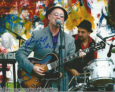 Initiative Singer Marshall Crenshaw Hand Signed Authentic Field Day 8x10 Photo D W/coa Photographs Rock & Pop