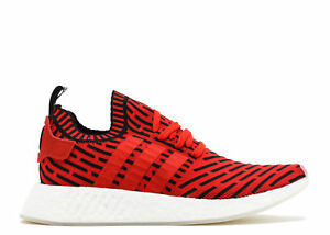 timeless design 507a6 83ebe Details about SZ 5.5 ADIDAS NMD R2 PRIMEKNIT Red Black White BOOST BB2909  Running (Women's 7)