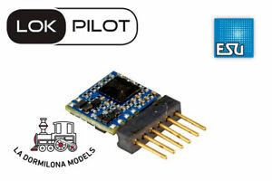 ESU-59827-DECODER-LokPilot-5-micro-DCC-6-pin-Direkt-Para-escalas-N-TT-NUEVO