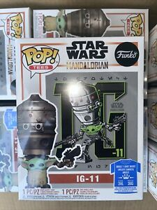 *Mint Ships Today* Funko POP! Tee Star Wars IG-11 & The Child Grogu All Sizes