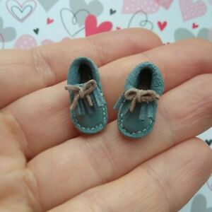 12th scale shoes Leather Shoes for Heidi Ott//Topper Dawn//Palitoy Pippa Doll