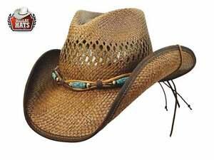 Caricamento dell immagine in corso Cappello-Western-paglia-Tangled-Dallas- Hats 4c6d849a1c49