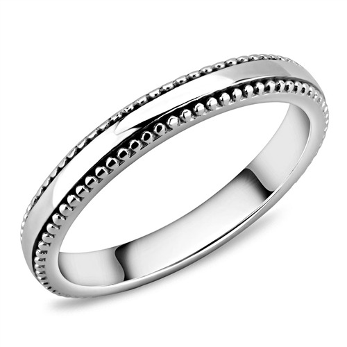 Women's Stainless Steel No Stone Fashion Ring Size 5 6 7 8 9 TK3503