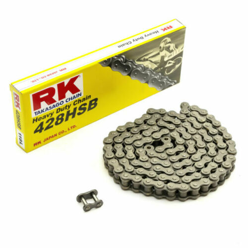 RK 428 HSB Chain 428 x 130 Links Hyosung RT 125 D Karion Citytrail 2011-2016