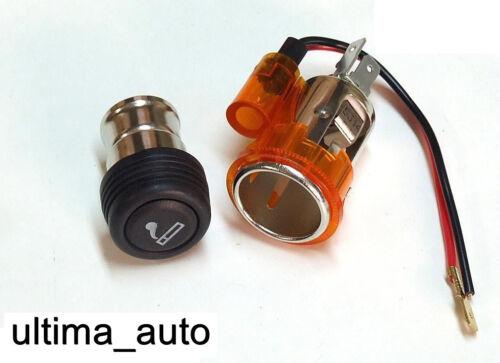Orange Zigarettenanzünder /& Buchse für Caddy Transporter T4 T5 VW Bernstein
