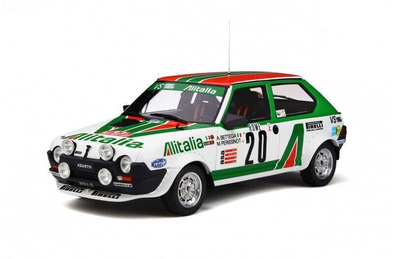 Otto Fiat Ritmo Abarth Gr.2  20 a.Bettega Rallye Monte voiturelo 1979 1 18