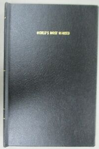 Invincible-Iron-Man-World-039-s-Most-Wanted-Custom-Handmade-Bound-Hardcover-Marvel