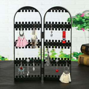 Clear-Acrylic-Earrings-Necklace-Jewelry-Display-Rack-Stand-Organizer-Holder-3C