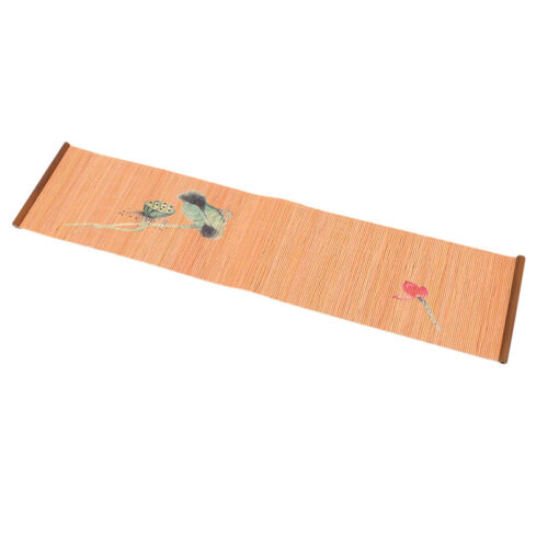 Imprime bambou thé rotin tapis isolant Naturel Table Mat Cuisine carft New G