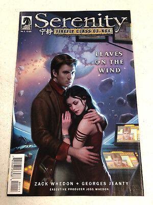 Serenity Firefly Class 03-K64 #4 Variant Edition Dark Horse Comics CB10477