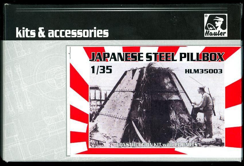 Hauler Models 1 35 JAPANESE WWII STEEL PILLBOX Resin Kit