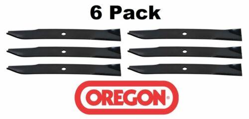 """6 Pack Oregon 91-242 Mower Blade for Gravely 11234 11234P1 50/"""" Pro 50"""