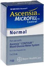 Ascensia MICROFILL Blood Glucose Control Solution Normal 2.50 mL